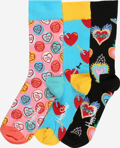 Happy Socks Čarape 'I Love You Gift Box' u miks boja, Pregled proizvoda