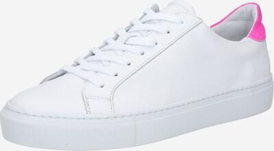 neon-rózsaszín / fehér Garment Project Rövid szárú edzőcipők: Elölnézet