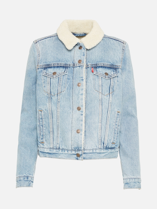 e0506dfae954 LEVI'S Jeansjacke 'ORIGINAL SHERPA TRUCKER' in blue denim