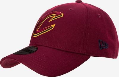 NEW ERA Cap 'Cleveland Cavaliers' in himbeer / rot, Produktansicht