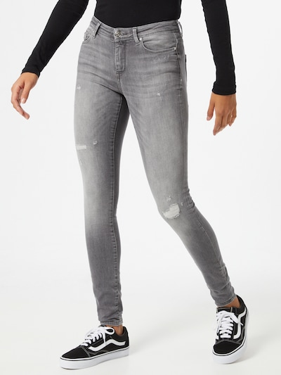 ONLY Jeans 'Life' in grey denim: Frontalansicht
