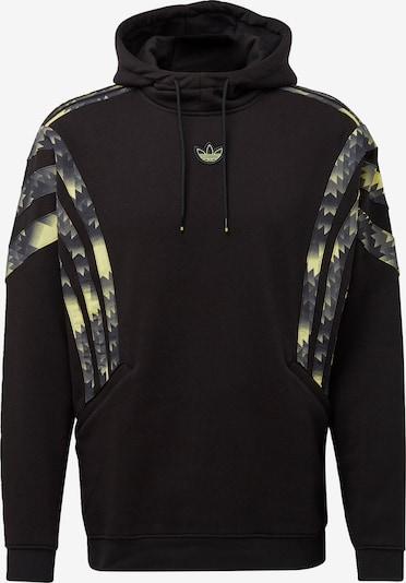 ADIDAS ORIGINALS Sweat-shirt en mélange de couleurs / noir, Vue avec produit