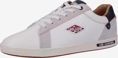 Lee Cooper Sneakers laag in de kleur Beige / Blauw / Wit, Productweergave