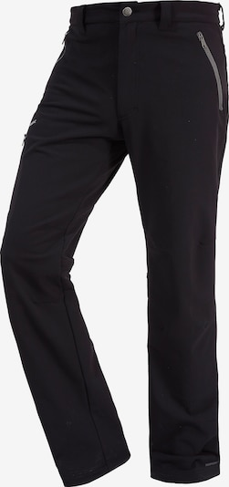 VAUDE Softshellhose 'Strathcona' in schwarz, Produktansicht