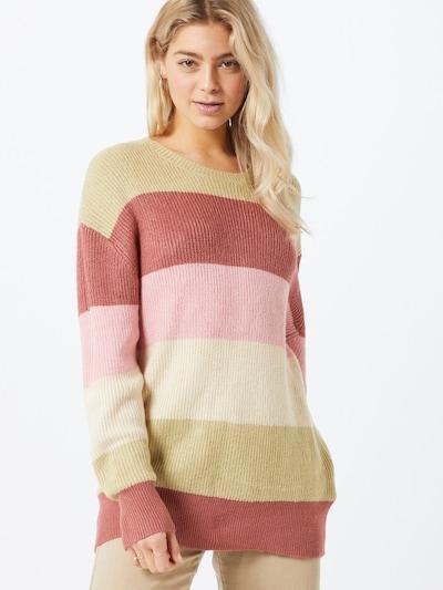 BILLABONG Pullover 'NIGHT OUT' in mischfarben / rosa: Frontalansicht
