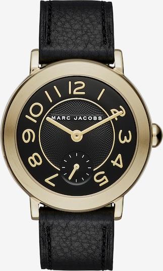 Marc Jacobs Armbanduhr in gold / schwarz, Produktansicht