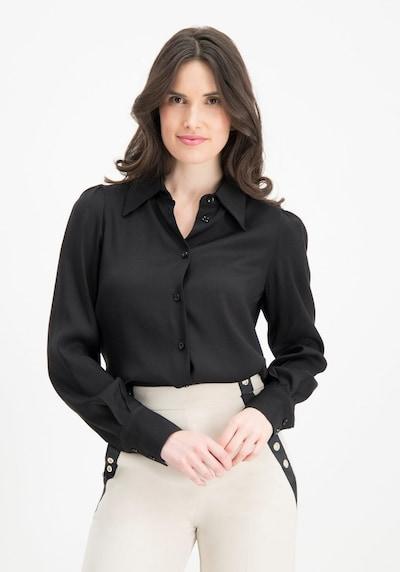 Nicowa Bluse 'WESINA' in schwarz, Modelansicht