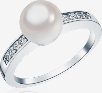 Rafaela Donata Ring in silber / weiß, Produktansicht