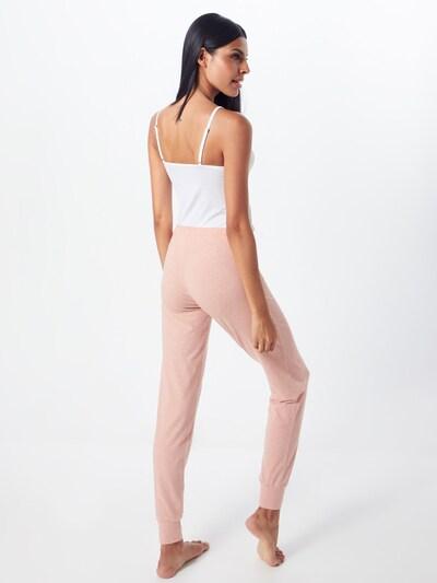 Skiny Pantalon de pyjama en rose: Vue de dos