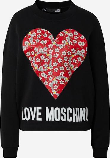 Love Moschino Sweatshirt in mischfarben / schwarz / weiß, Produktansicht