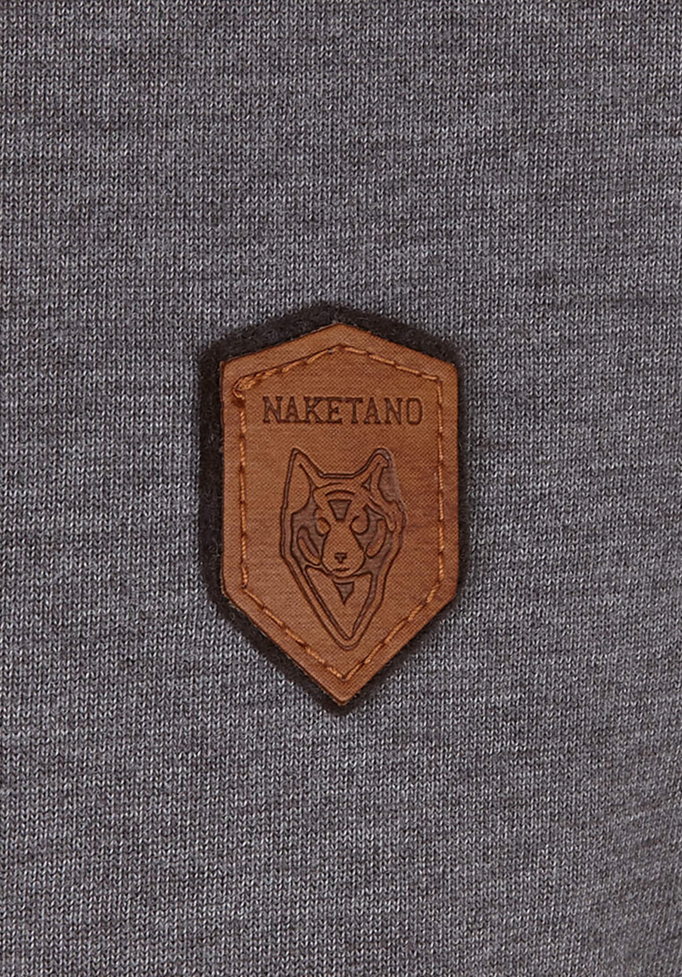 Dunkelgrau ohol' Naketano In Sweatshirt 'al K zMpGLqSVU