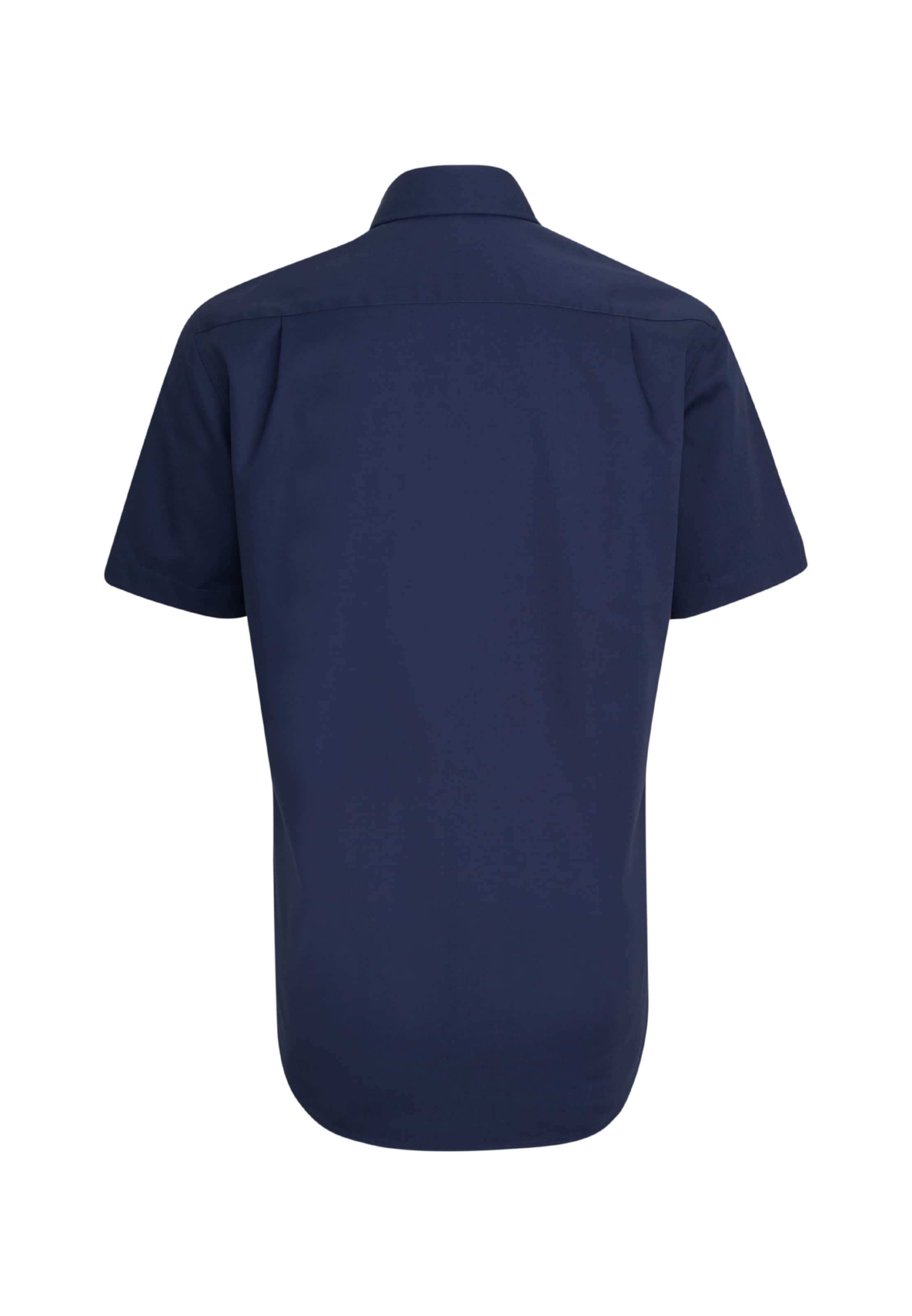 Dunkelblau Hemd In Modern Seidensticker ' l1JcTKF
