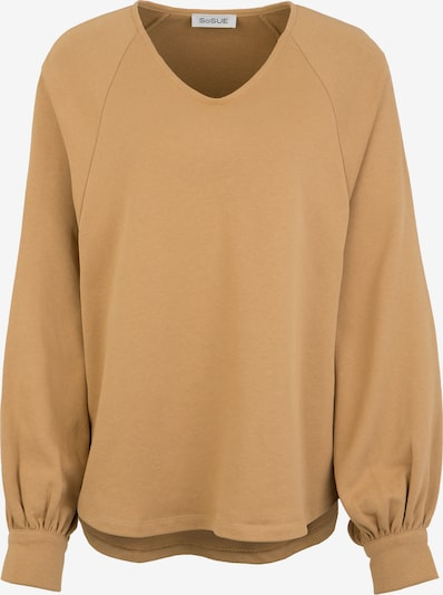 SoSUE Sweatshirt in de kleur Beige, Productweergave