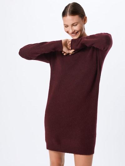 VERO MODA Obleka 'BLAKELY' | vinsko rdeča barva: Frontalni pogled