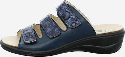 ALGEMARE Muiltjes in de kleur Blauw / Zwart, Productweergave