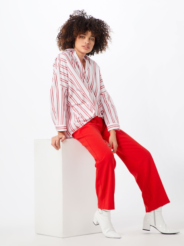 In Iblues Blouse RoodWit 'cablo' xBthrdsQC