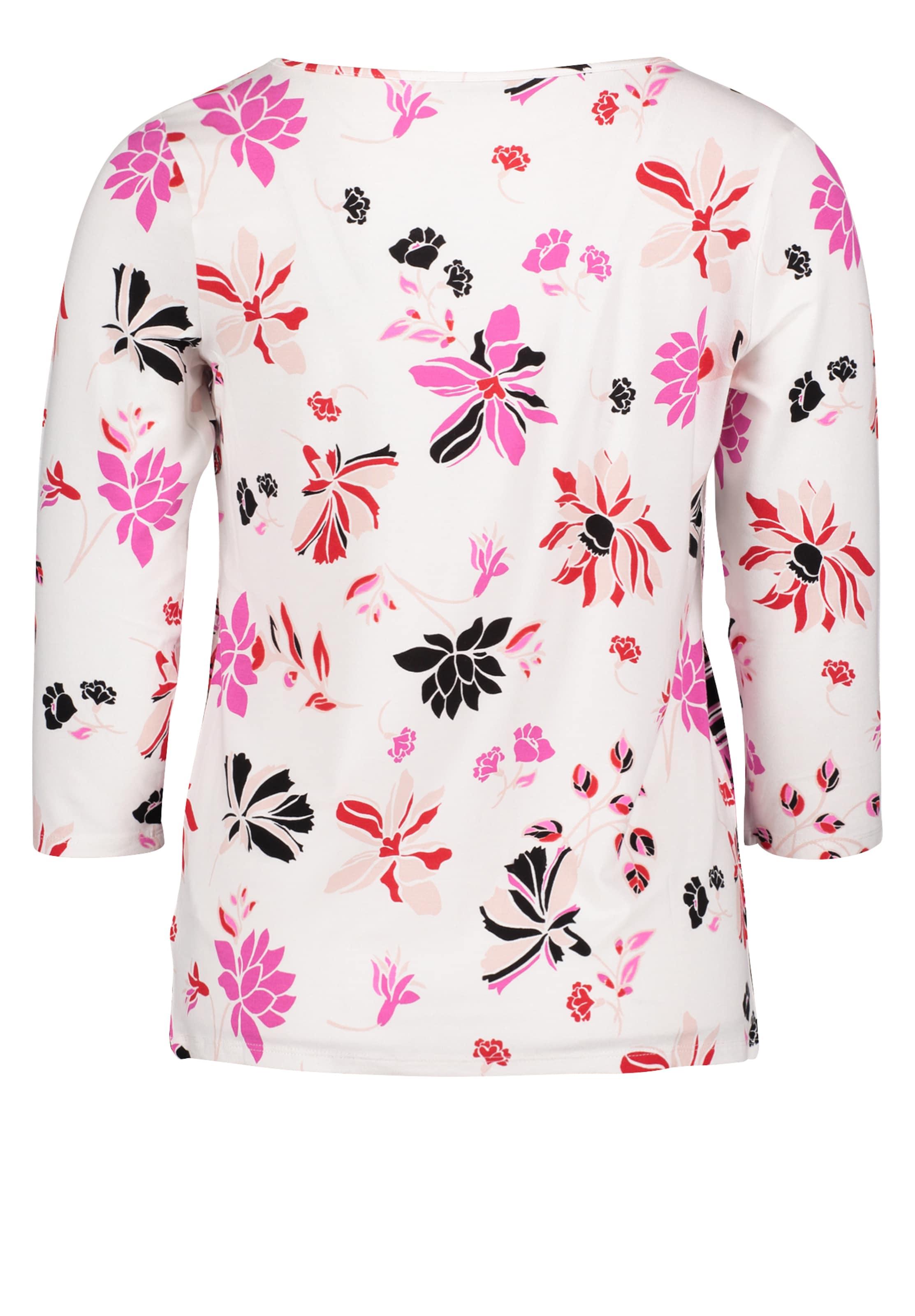 Betty Shirt In Weiß MischfarbenSchwarz Barclay XuTwOPZlki