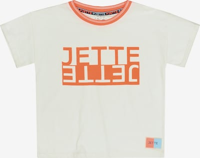 JETTE BY STACCATO T-Shirt in orange / naturweiß, Produktansicht