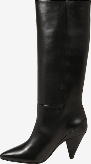 Auliniai batai su kulniuku 'Myrassa' iš Samsoe Samsoe , spalva - juoda: Vaizdas iš šono