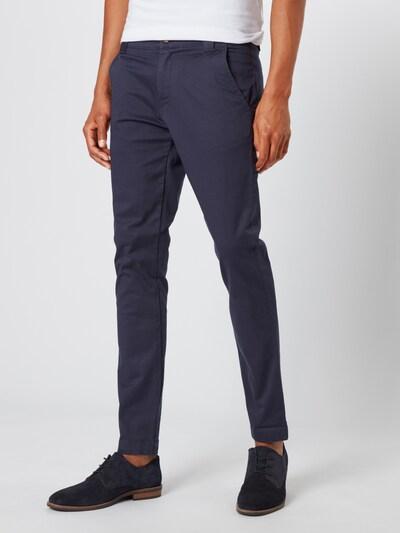 Tommy Jeans Pantalon chino en bleu-gris: Vue de face