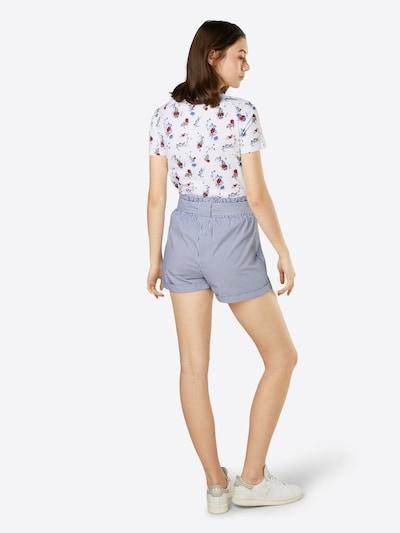 ONLY Spodnie 'SMILLA' w kolorze podpalany niebieskim: Widok od tyłu