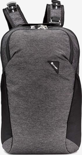 Pacsafe Sac à dos 'Vibe' en gris chiné / noir, Vue avec produit
