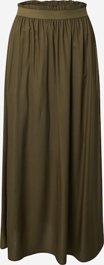 ONLY Rok 'VENEDIG PAPERBAG LONG SKIRT WVN' in de kleur Olijfgroen, Productweergave
