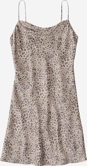 Abercrombie & Fitch Kleid 'LINEN SLIP DRESS' in beige / schwarz, Produktansicht