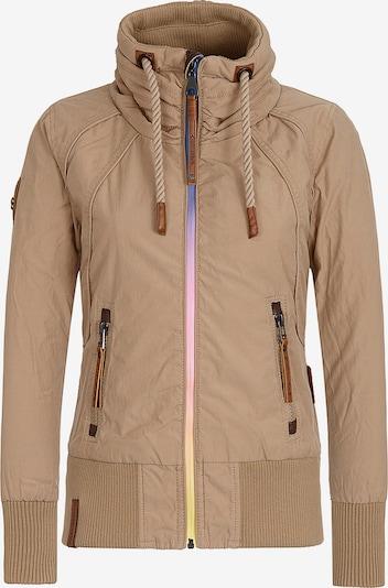 naketano Tussenjas in de kleur Camel, Productweergave