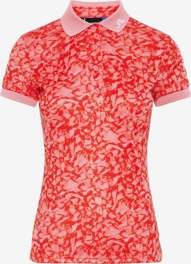 J.Lindeberg Poloshirt 'Tour Tech' in pink, Produktansicht