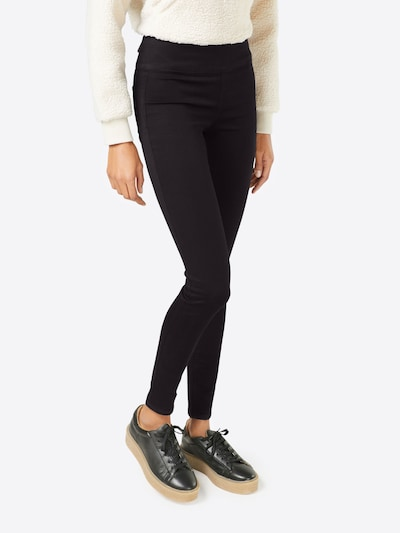 PIECES Jeggings 'HIGHWAIST BETTYSOFT' en noir, Vue avec modèle