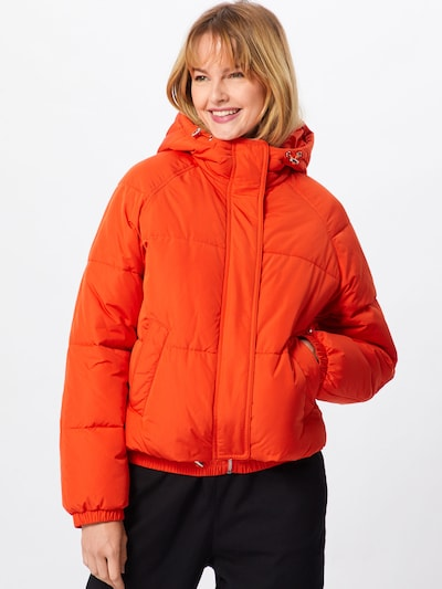 ABOUT YOU Jacke 'Claude' in neonorange: Frontalansicht