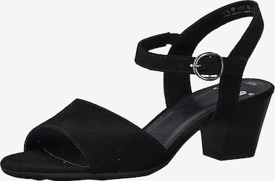 JANA Riemchensandaletten in schwarz, Produktansicht