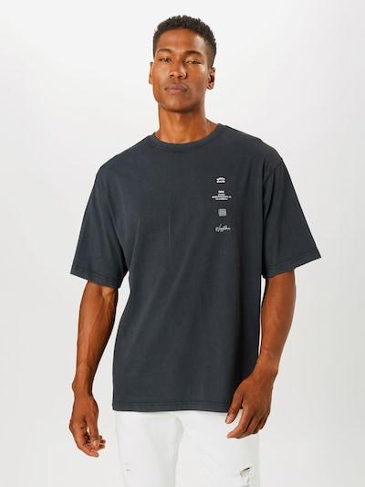 Worst Behavior Koszulka 'SCORPIUS' w kolorze czarny / białym: Widok z przodu