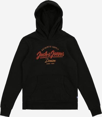 Jack & Jones Junior Sweatshirt in rot / schwarz, Produktansicht