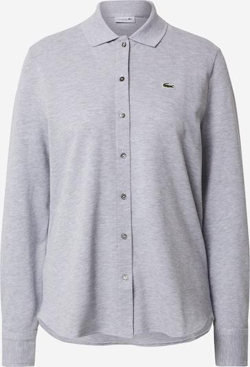 LACOSTE T-shirt en gris / gris argenté, Vue avec produit