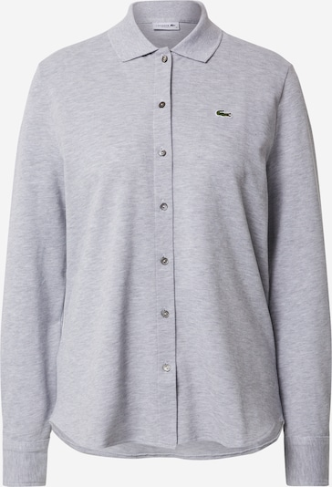 LACOSTE Shirt in grau / silbergrau, Produktansicht