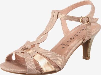 JANE KLAIN T-Steg-Sandaletten in pink / rosé, Produktansicht