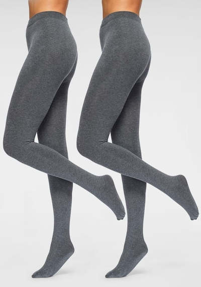 LAVANA Tights in Black: Frontal view