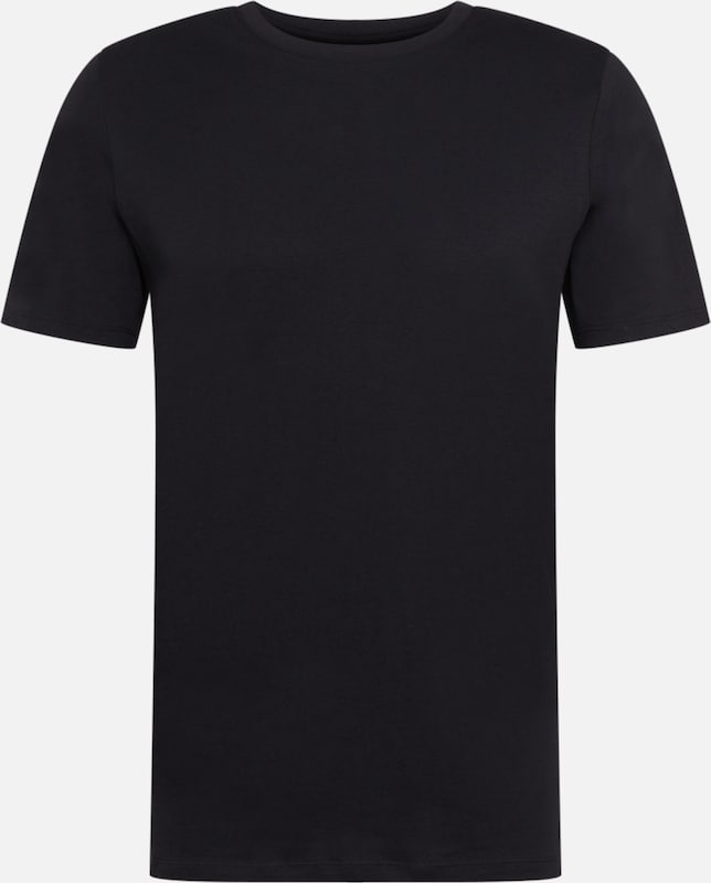 JACK & JONES T-Shirt 'Organic Basic Tee' in schwarz: Frontalansicht