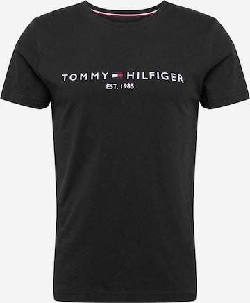 TOMMY HILFIGER Shirt in Schwarz