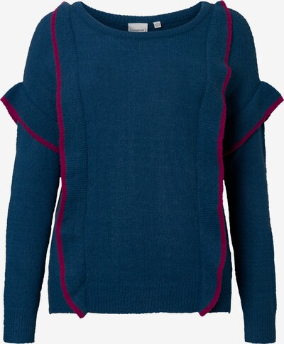 Junarose Pullover in blau / rot, Produktansicht