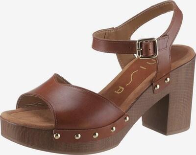 UNISA Sandalette 'Taco' in braun, Produktansicht