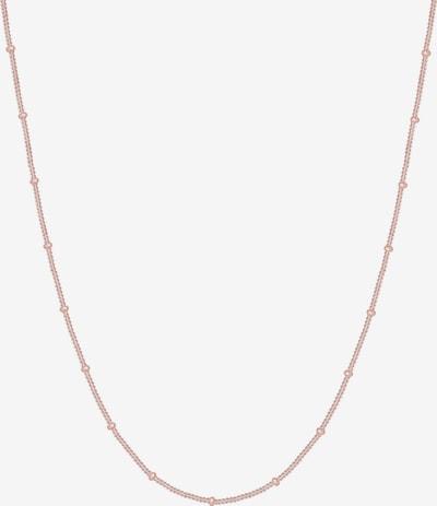 ELLI Halskette 'Basic' in rosegold, Produktansicht