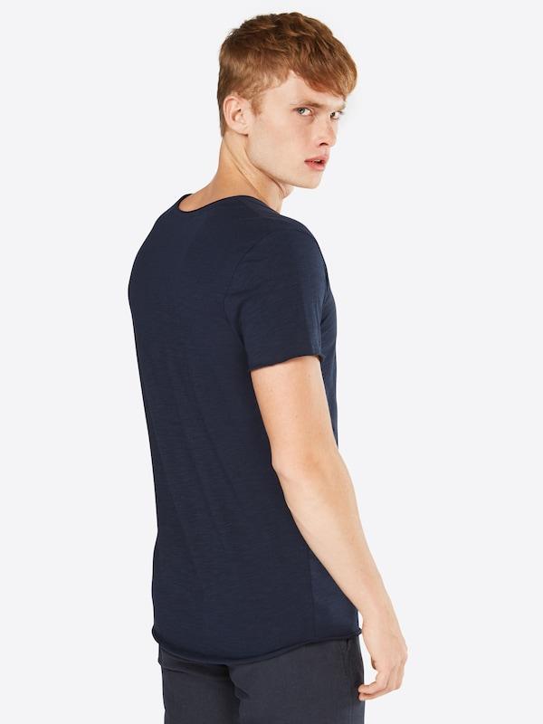 En T shirt U 'jjebas Noos' Ss Bleu Jackamp; neck Jones Marine Tee mN8n0wv