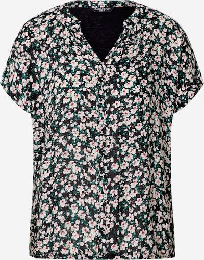 ZABAIONE Shirt 'Macy' in de kleur Gemengde kleuren / Zwart, Productweergave
