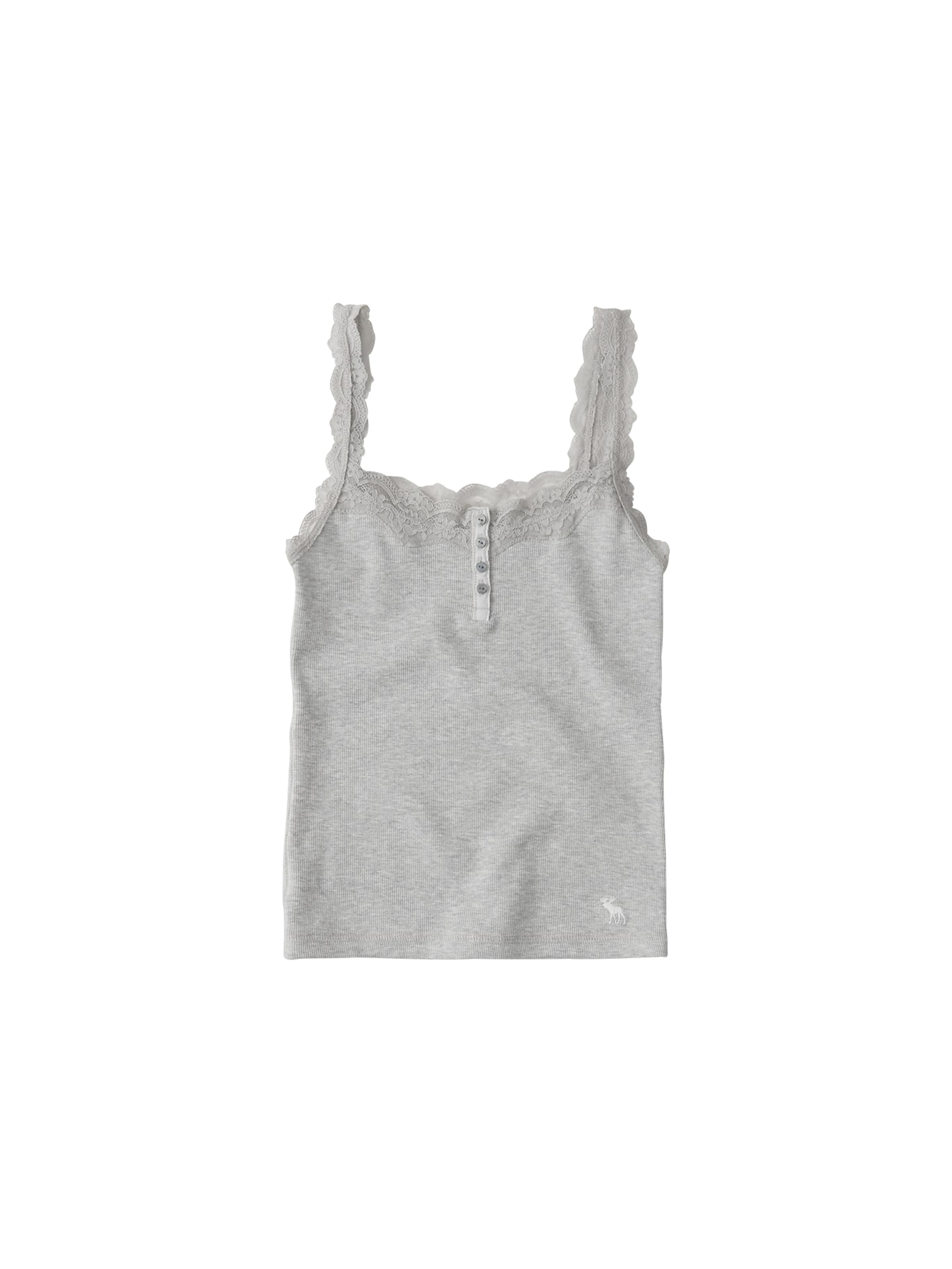 In Fitch Grau Cami' 'moose Top Abercrombieamp; Lace mNvw80nO