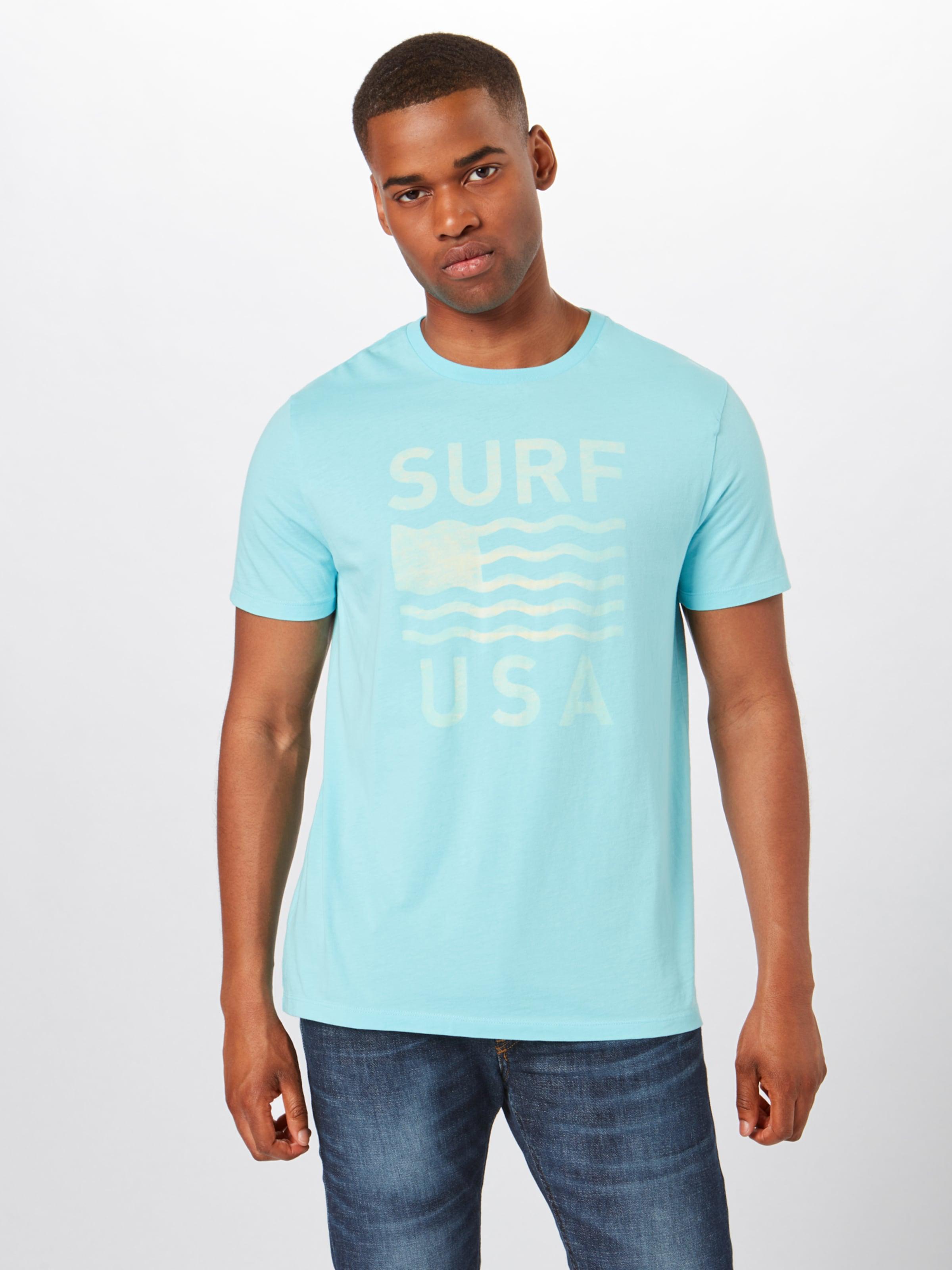 T TürkisWeiß shirt 'surf In Gap Usa' SjpMUzLGqV