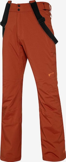 PROTEST Skihose 'Miikka 19' in orange / schwarz, Produktansicht