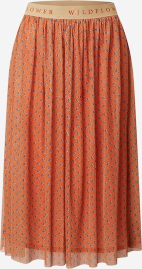 Rich & Royal Sukně - šedá / oranžová, Produkt
